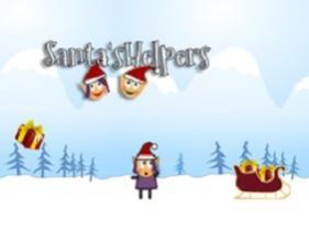 Recoger los regalos de Santa Claus