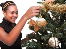 Juego de decorar arnol de Navidad