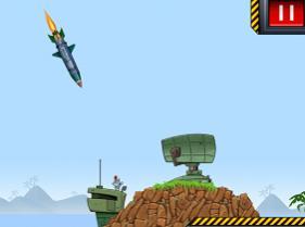 Juego de guiar misiles