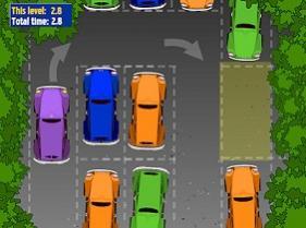juego de estacionar autos para celular