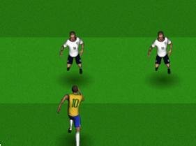 Esquivar a futbolistas