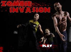 Juego de matar zombies con el dedo