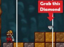juego de recoger diamantes