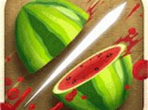 Cortar frutas con el dedo