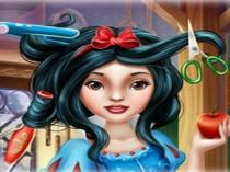 juegos de peluqueria de blancanieves